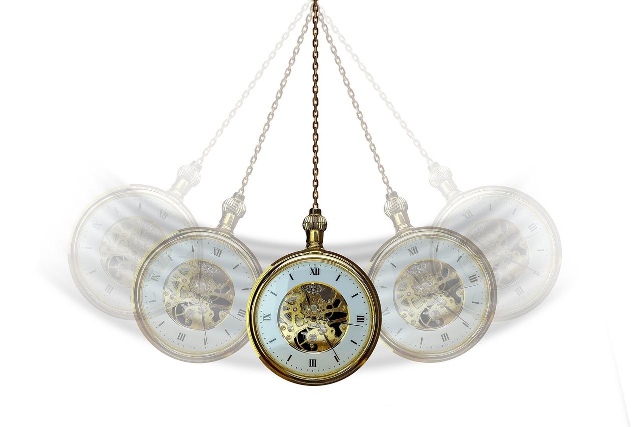 Hypnóza pomocí hodinek