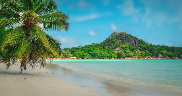 pobřeží seychel