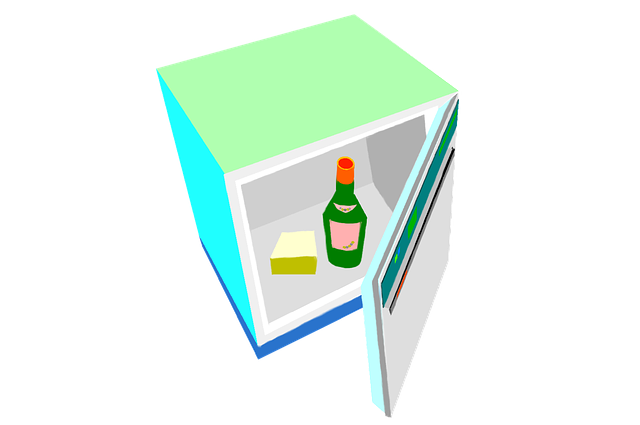 malá lednička