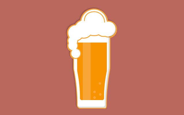 kreslené pivo