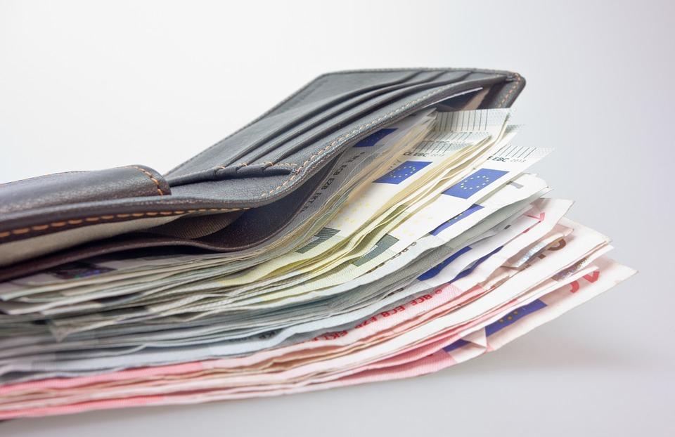 naditá peněženka